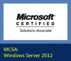 learn 2012 Certificação MCSA Windows Server training course